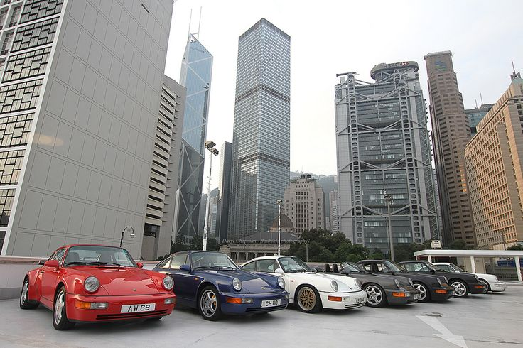 Porsche, 964's, Central, Hong Kong | by Daryl Chapman Photography