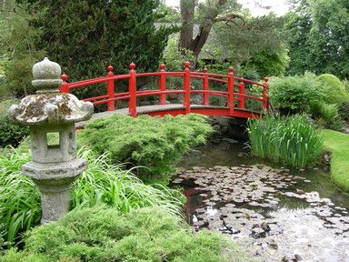 An Introduction To The Japanese Gardens In County Kildare, Ireland.  Designed Over A Hundred Years Ago, These Beautiful Gardens, Said To Be The  Best In ...