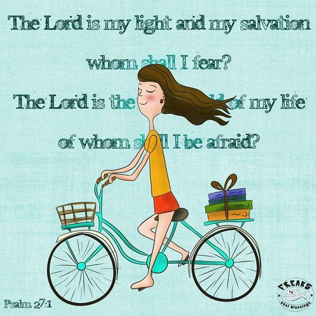 #ilustracion #illustration #drawing #nofear #thelordismystrength #psalms #bike