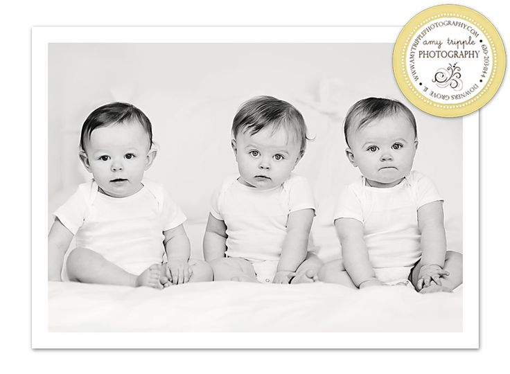 sweet triplets in the studio!: Target Cards, Cards Winner, Baby Photographer