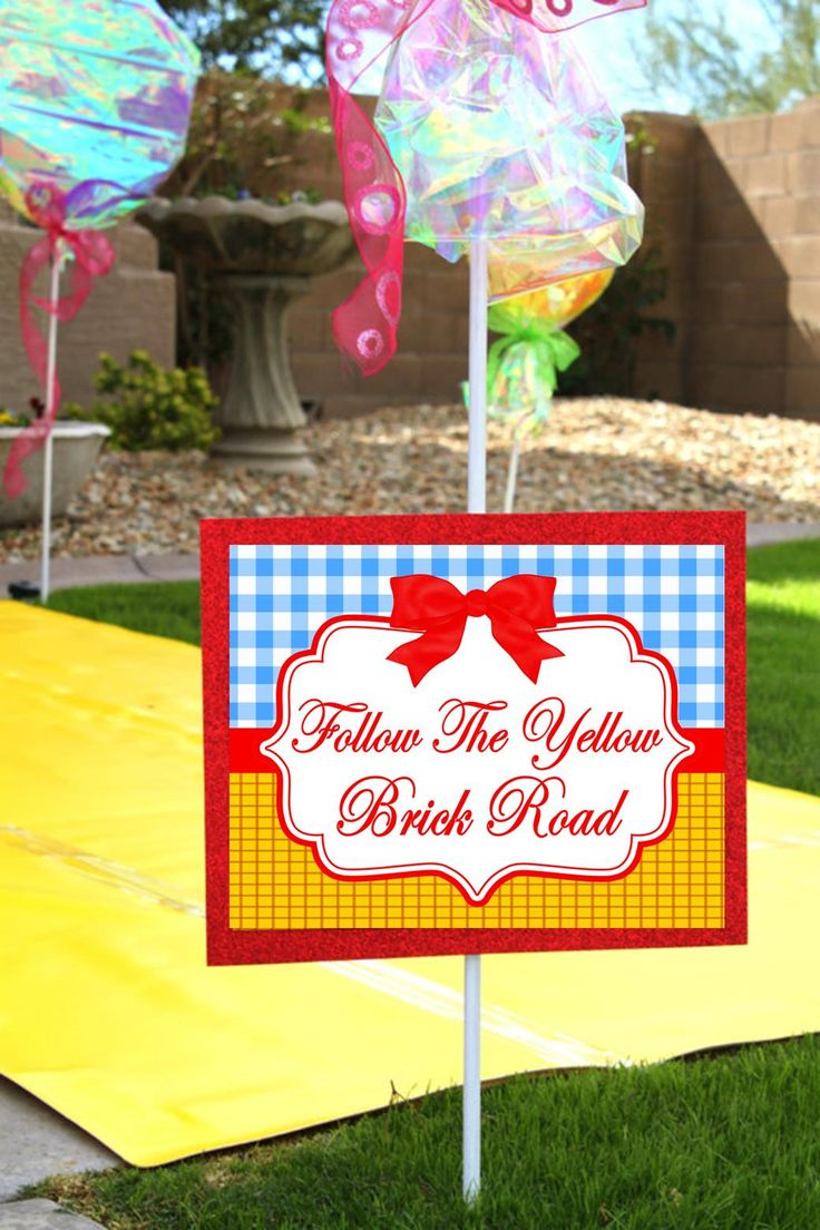 best wizard of oz dorothy party birthday party printables