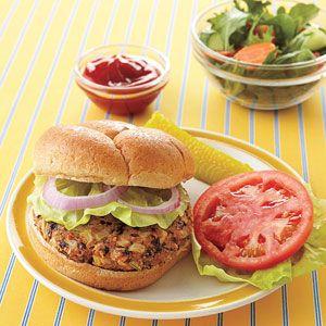 Black Bean Burgers | MyRecipes.com