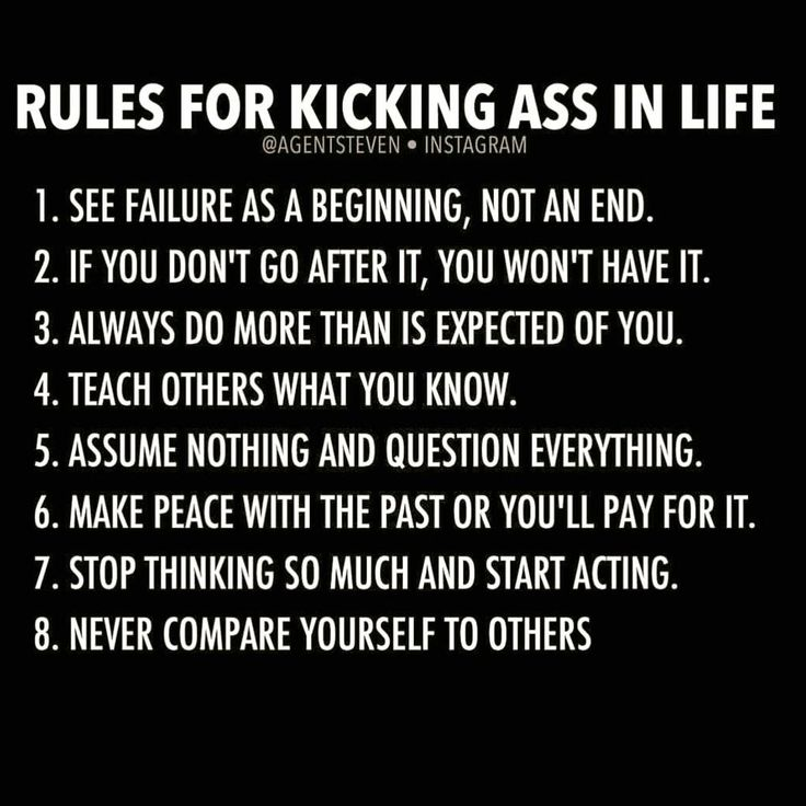 Words to live by . . . I need to work on a few ;)