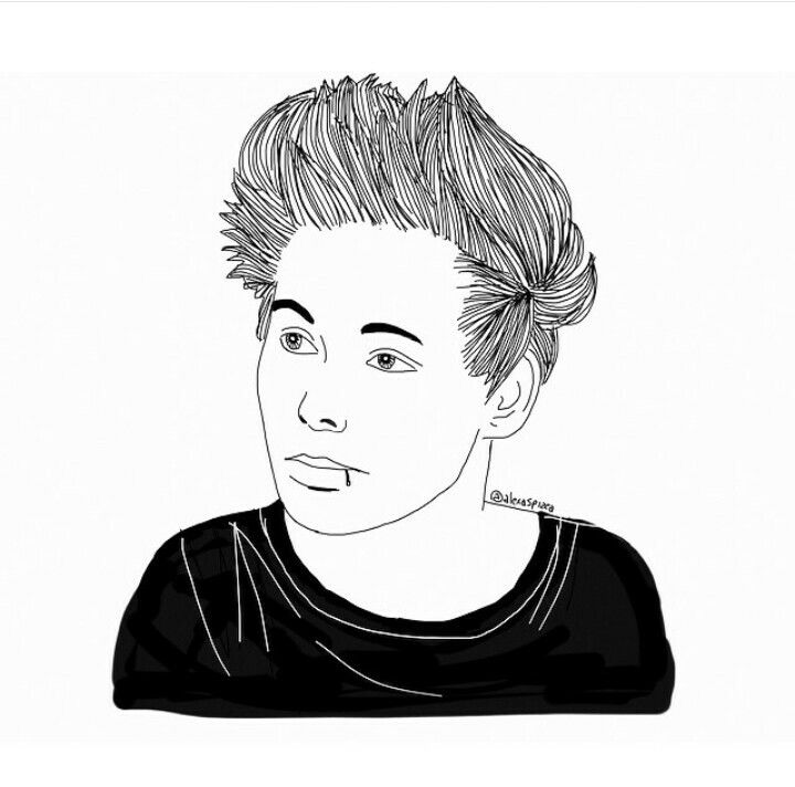 Tumblr Outline Boy | Tumblr Outlines | Pinterest | More Drawings And Drawing Girls Ideas
