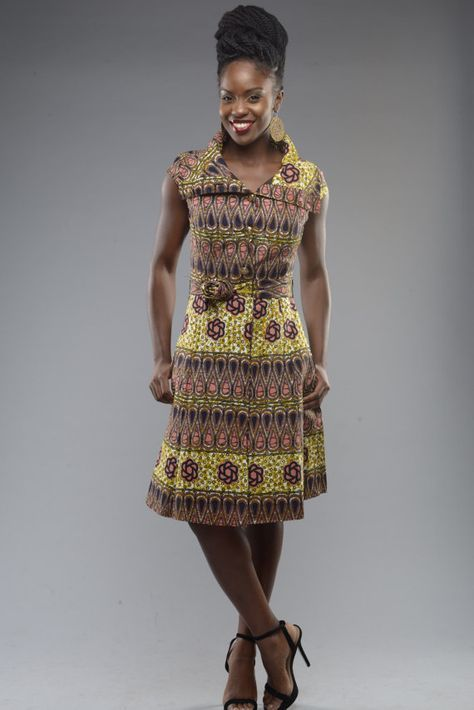 Comtesse robe ankara GITAS portail par GitasPortal sur Etsy