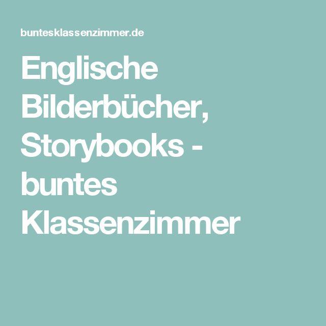 Englische Bilderbücher, Storybooks - buntes Klassenzimmer
