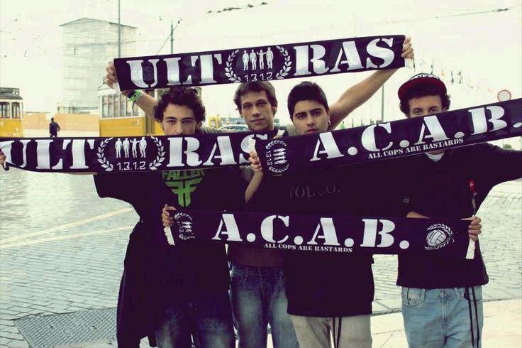 Ultras ACAB 1312 | Anonymous ART of Revolution