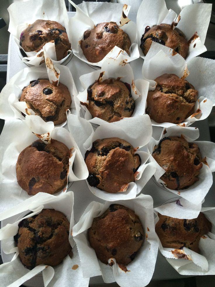 Heerlijke ontbijtmuffins a la rens kroes mmmmmm