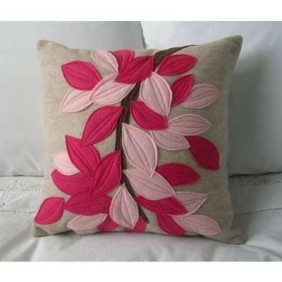 DIY pillow by twila