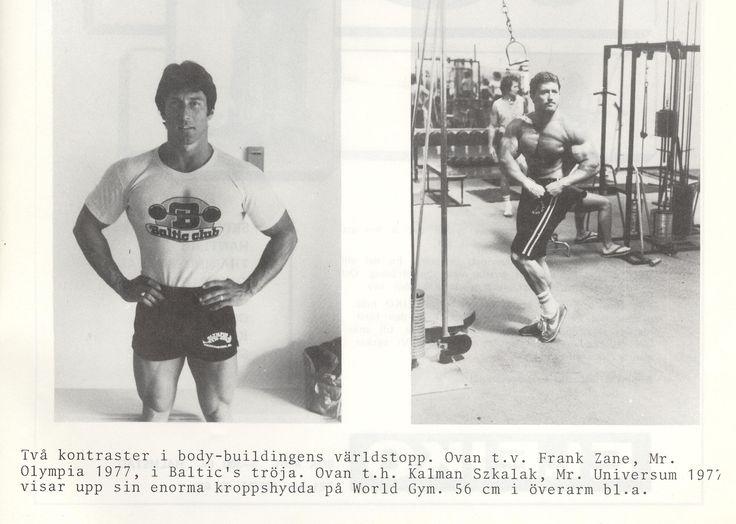 1978 Golds Gym,Frank Zane,Baltic Club T-shirt