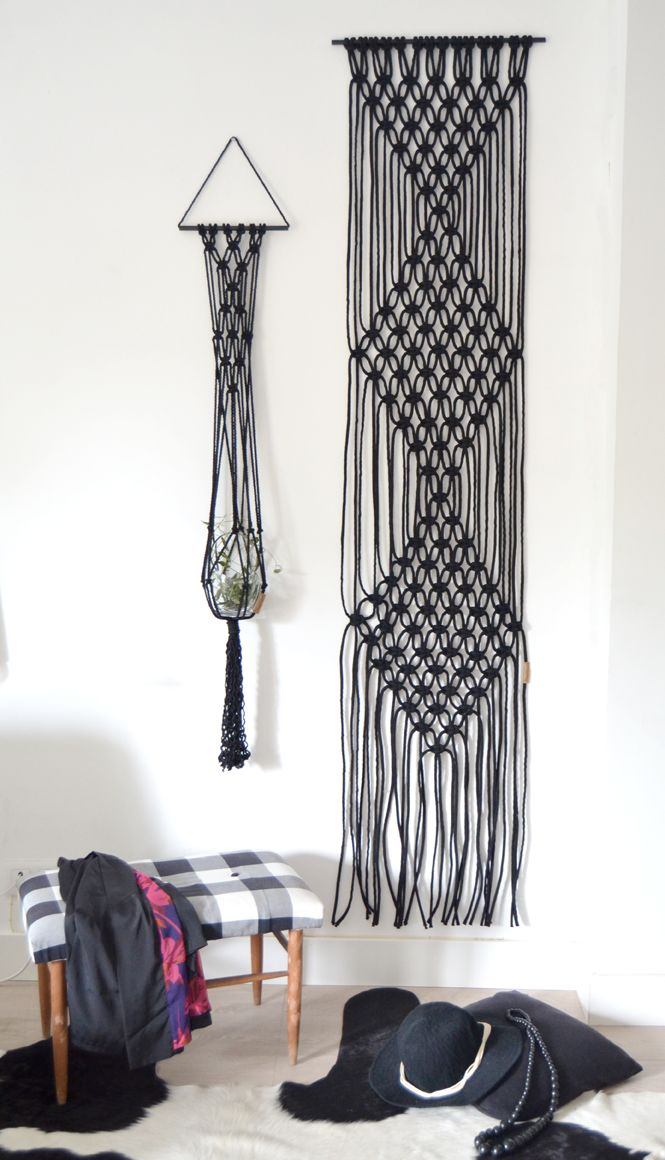 CLASS #macrame WALL ART by Ranrandesign