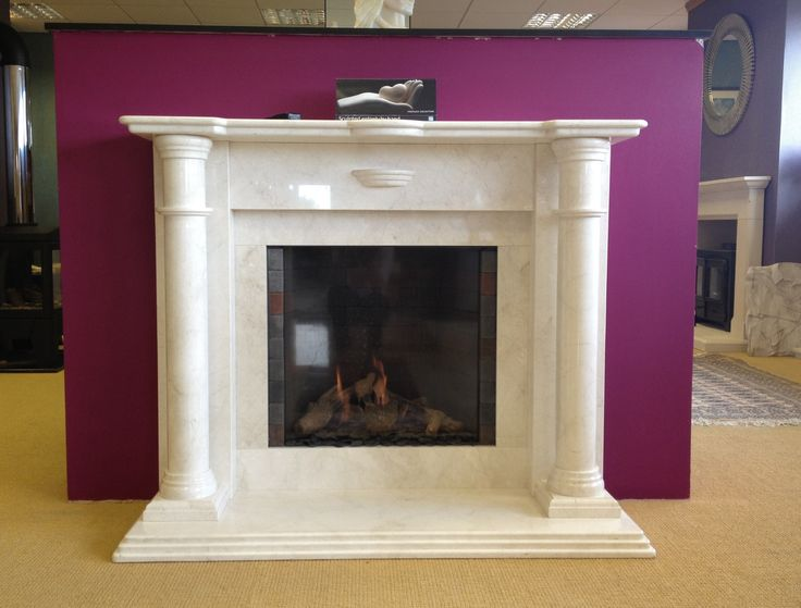Showroom and Marble fireplaces