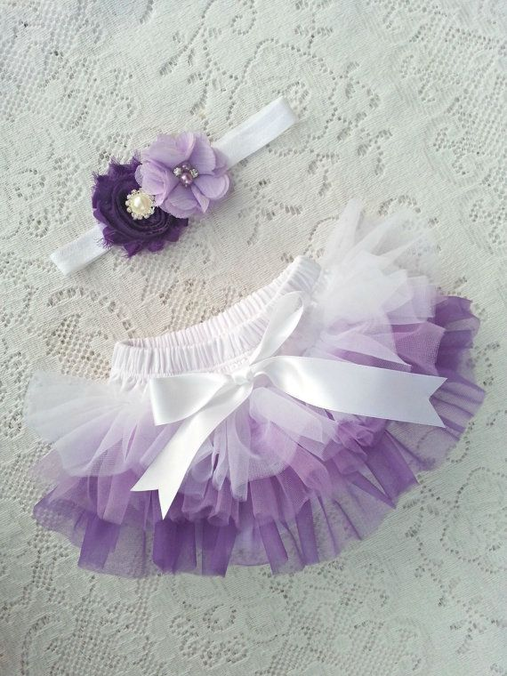 Baby Bloomer. All around Ombre Chiffon by mixnmatchsensations