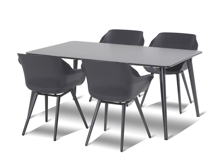 Sophie Studio tuinset 170x100 tafel   4 stoelen | Hartman
