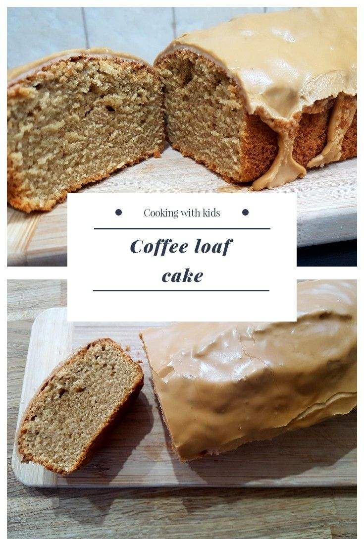 Easy and delicious, this coffee loaf cake has a light sponge topped with sweet icing.