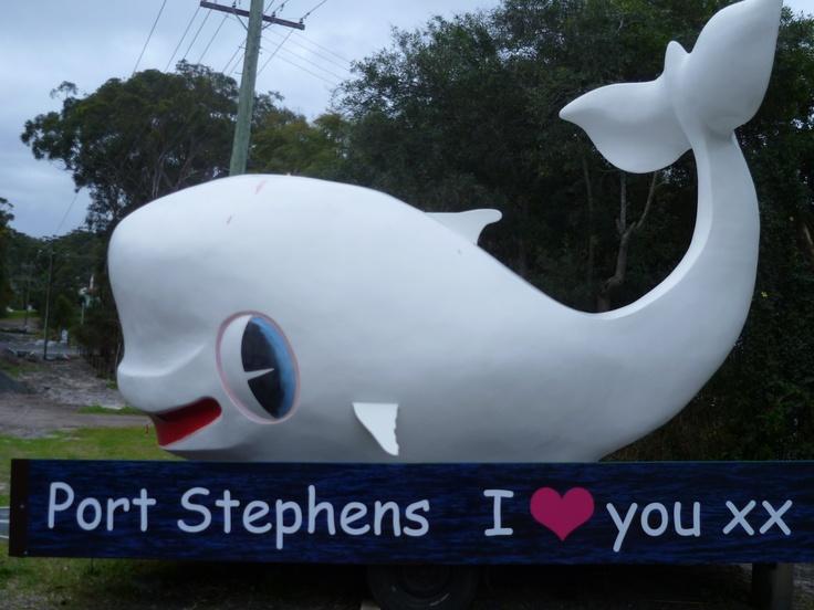 Port Stephens I <3 You! http://tinyurl.com/76purlz