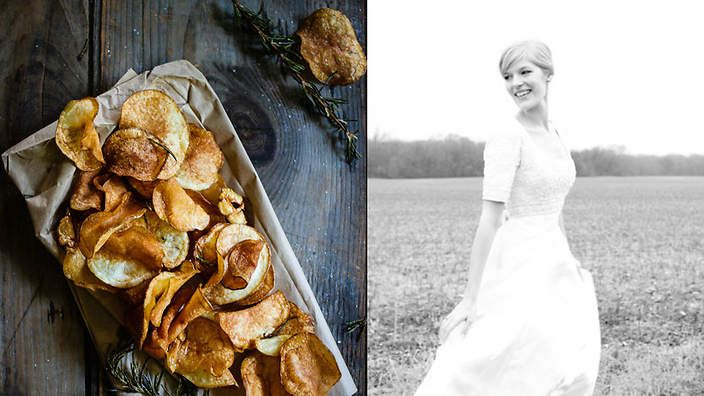 fortheloveofthesouth.com. You'll become an immediate fan of this elegant, nostalgic blog from Amber Wilson, with its evocative writing, redolent of her grandmother's kitchen, smoky chicory coffee and bacon bourbon brittle.