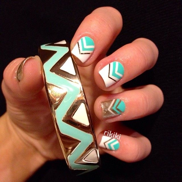 Instagram photo by rikiki_nailpolish #nail #nails #nailart