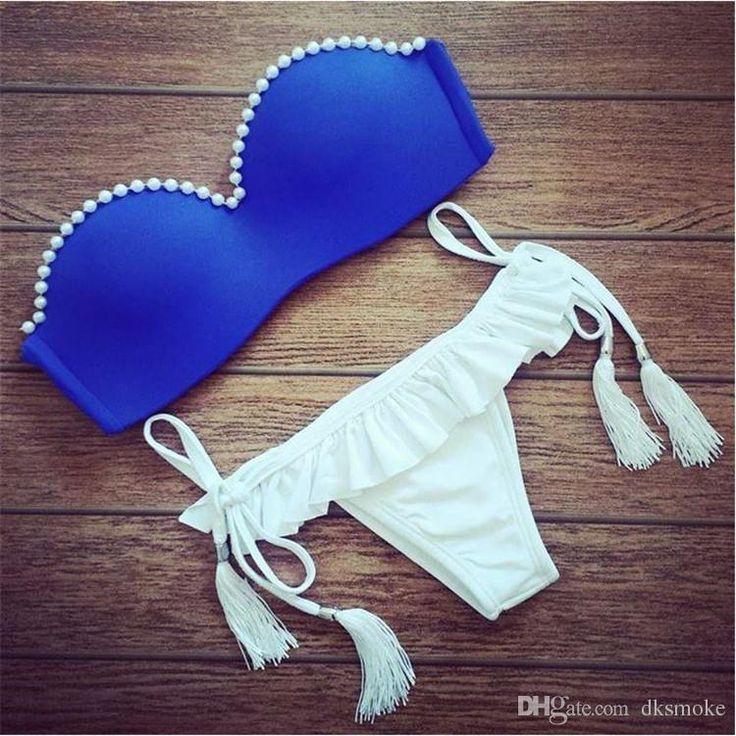 Vente En Gros 2015 Dernières Polovi Push Up Maillots Maillot De Bain Sexy Brazilian Bottoms Bikini Maillots De Bain De Haute Qualité De Dksmoke À $6.07 Sur Fr.Dhgate.Com | Dhgate