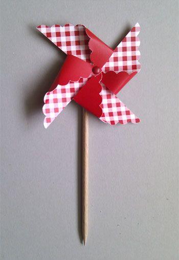 Tutorial para hacer molinillos de papel