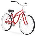 Urban Lady Single Speed Classic Beach Cruiser Bicycle For Women, 26-Inch, Red4  UPC - 788045695718