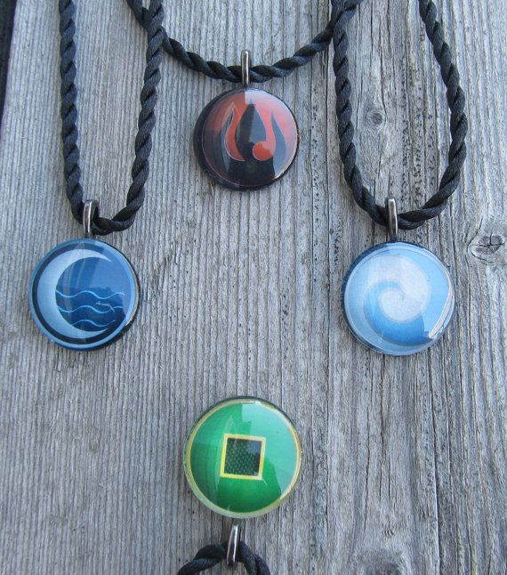 Avatar the Last Airbender necklace anime gift by MontanaMagic, $16.00