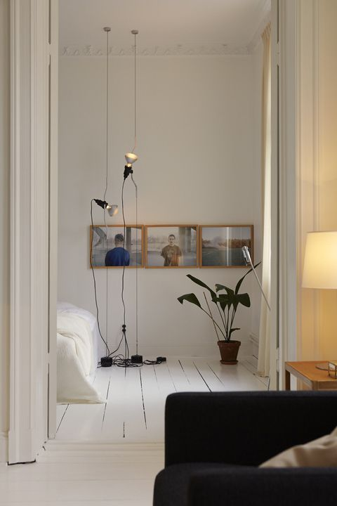 PARENTESTI pendant lamp from #FLOS in this apartment in Stockholm on Fantastic Frank