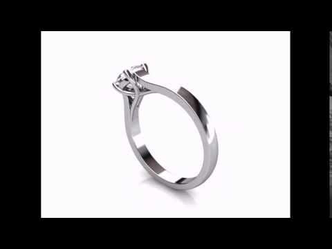 CAD Designed Diamond Ring #perfectionmadepossible