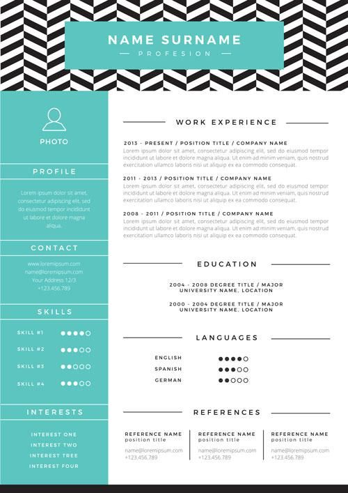 52 best Resumes  Cover Letters images on Pinterest Resume, Resume