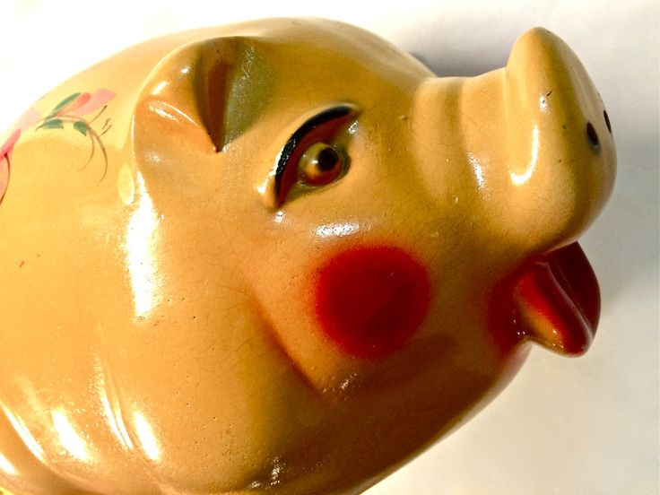 17 best images about chalkware on pinterest carnival prizes vintage and piggy bank - Extra large ceramic piggy bank ...