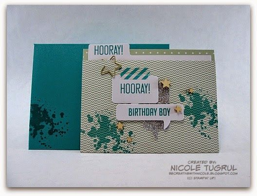 Be Creative with Nicole: Hooray It's Your Day Project Kit