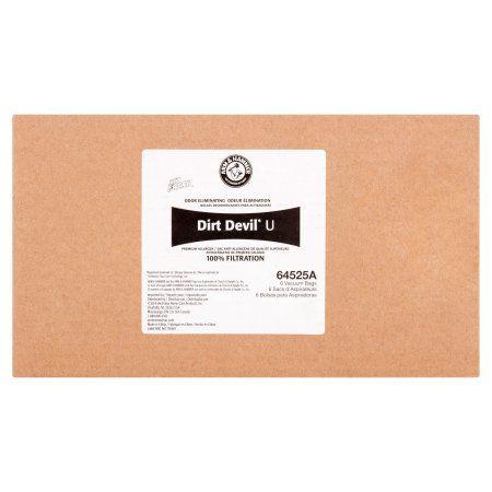 Arm & Hammer Dirt Devil Pet Fresh Odor Eliminating Vacuum Bags, 6-Pack