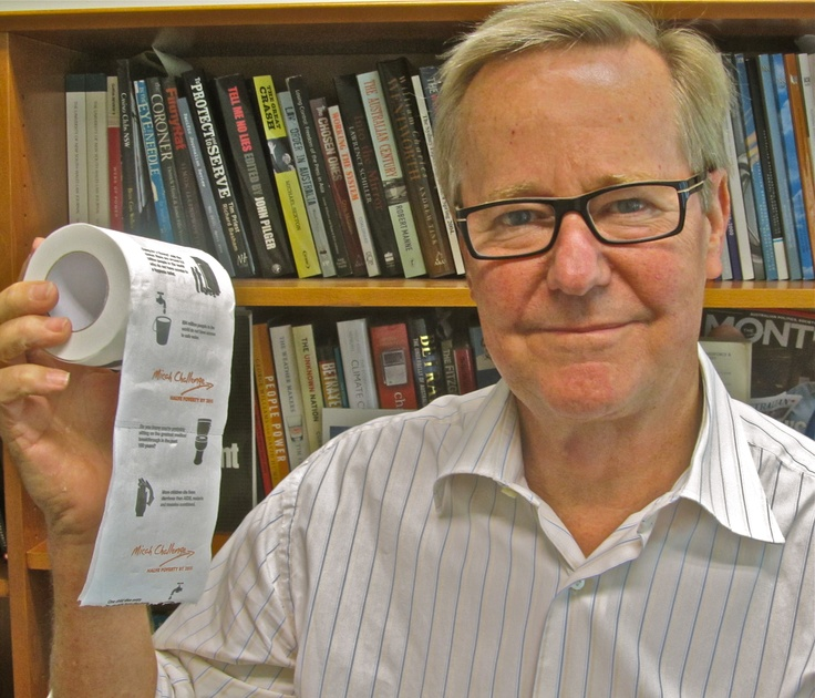 Quentin Dempster - Host of ABC Stateline (NSW)