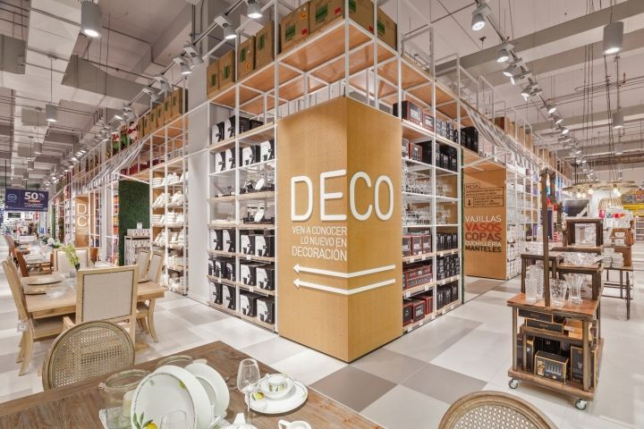 Led by the core values of Experimental, Contemporary, Innovative and Engaging, this three-floor store inspires shoppers. The navigation has a highly tactile, premium appeal, taking inspiration from art exhibitions, origami patterns and wellbeing elements such as natural foliage.