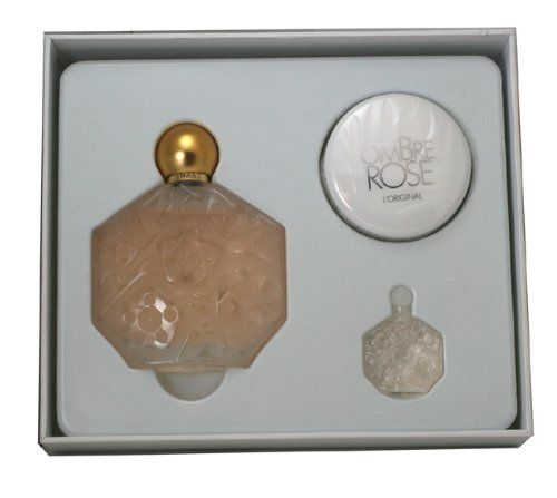 Jean Charles Brosseau Ombre Rose Gift Set for Women (Eau De Toilette Spray, Perfumed Body Powder, Eau De Toilette Splash) by Jean Charles Brosseau. Save 37 Off!. $37.99. Recommended Use: romantic. Fragrance Notes: a deep, rich blend of spices and oriental florals, very feminine and alluring.. Design House: Jean Charles Brosseau. Ombre Rose by Jean-Charles Brosseau Fragrance Set. This set contains an Eau de Toilette Spray 3.4 fl oz, a Perfumed Body Powder 0.4 oz and Eau de Toilette M...