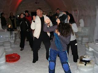 Hotel of Ice party, Balea Lac, Romania