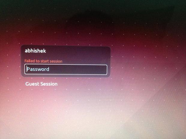 """Se você estava tentando fazer login no Ubuntu e não conseguiu entrar (mesmo com a senha certa) e ainda recebeu a mensagem Failed To Start Session (ou em bom português Falha ao iniciar a sessão) em cores vermelhas. Veja aqui como resolver esse problema.  Leia o restante do texto Como consertar o erro """"Failed To Start Session no Login no Ubuntu""""  from Como consertar o erro Failed To Start Session no Login no Ubuntu"""