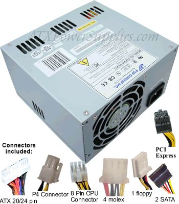 Dell Power Supply Upgrade - FSP460-60GLC - $7499 Computer Power