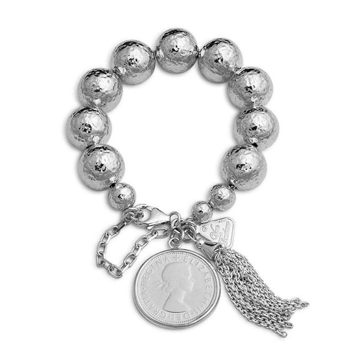 Silver VonTreskow Bracelet with Australian coin Chic