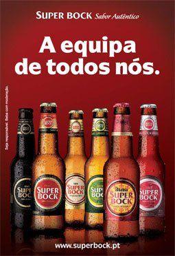 Super Bock beer - The team