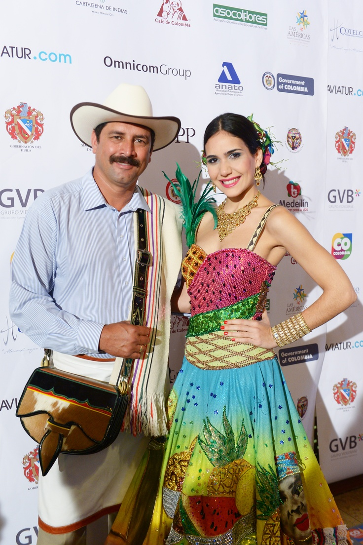 Nuestros embajadores: Juan Valdez y la Reina del Carnaval de Barranquilla!
