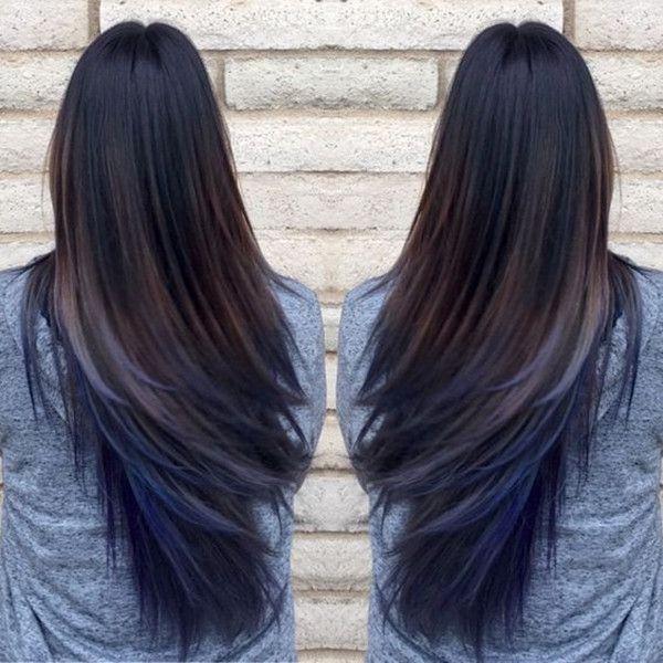 Best 25+ Black hair ombre ideas on Pinterest | Carmel highlights ...