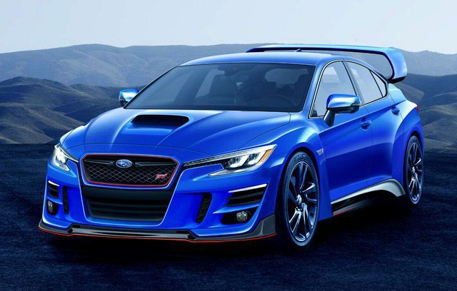 2020 Subaru Wrx Sti Rumors Concept Car Announcements 2018
