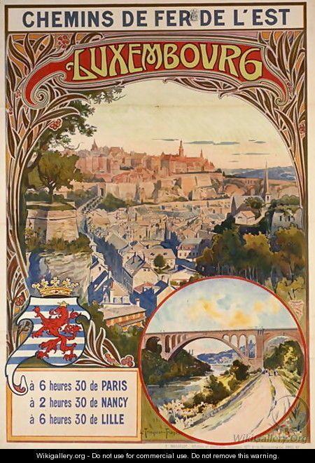 Luxembourg ~ Louis Trinquier-Trianon