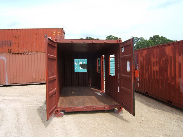 a company in brenham  texas that converts containers into houses  pinner said   u0026quot the owner gave