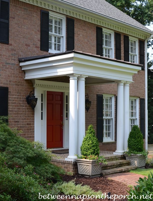 Boxwood Topiaries for a Traditional Home