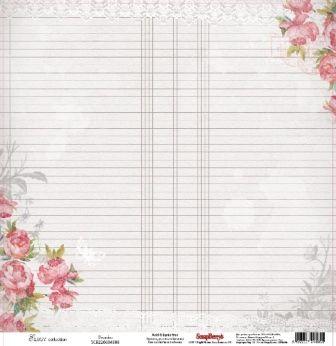 Papier 30x30 - Elegy Peonies - Scrapberry's SCB220604308 Na-Strychu