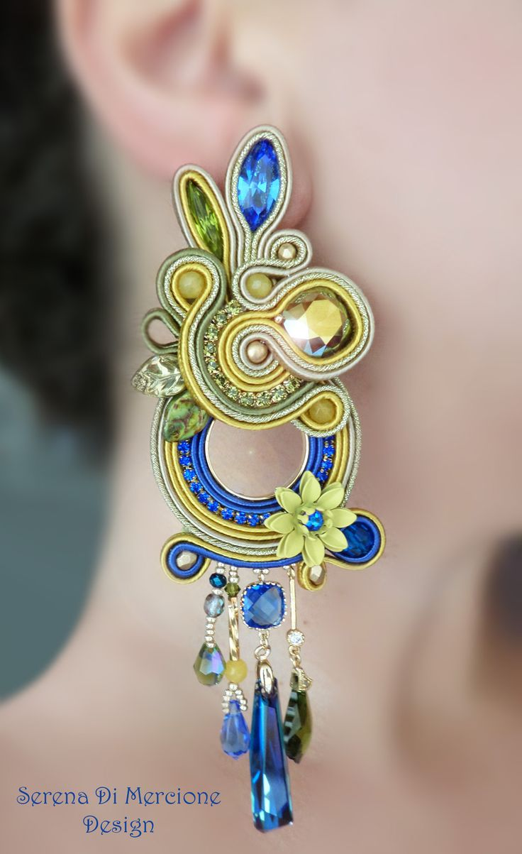 Soutache Earrings                                                                                                                                                                                 More
