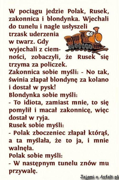 Polak cwana bestia. :D