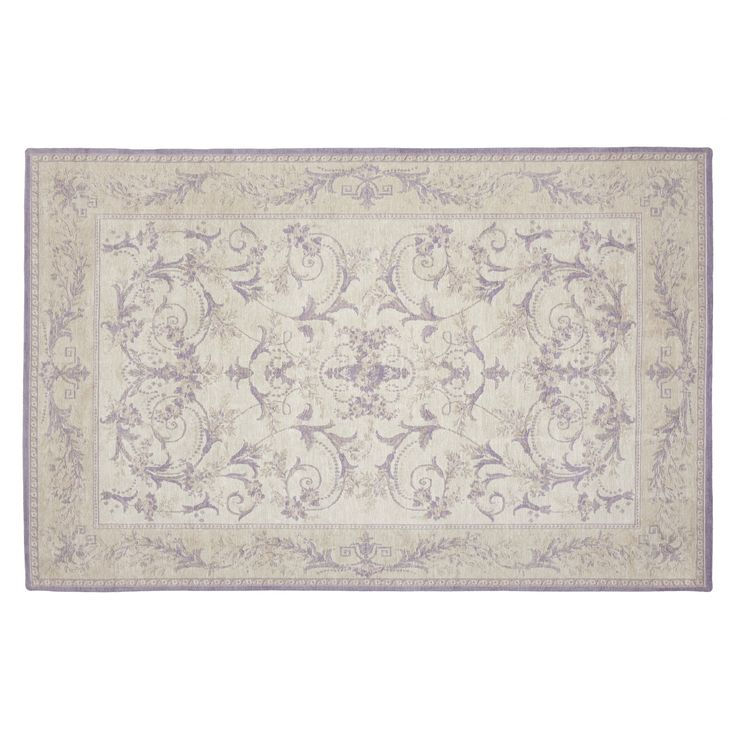 Malmaison Pale Amethyst Rug at Laura Ashley